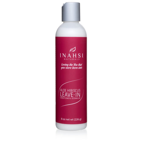 Inahsi Naturals Aloe Hibiscus Leave-In Conditioner & Detangler 8oz