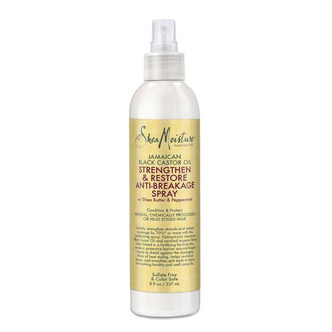 SHEAMOISTURE JAMAICAN BLACK CASTOR OIL STRENGTHEN & RESTORE ANTI-BREAKAGE SPRAY