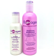 ApHogee Balancing Moisturizer & Two Step Protein Set