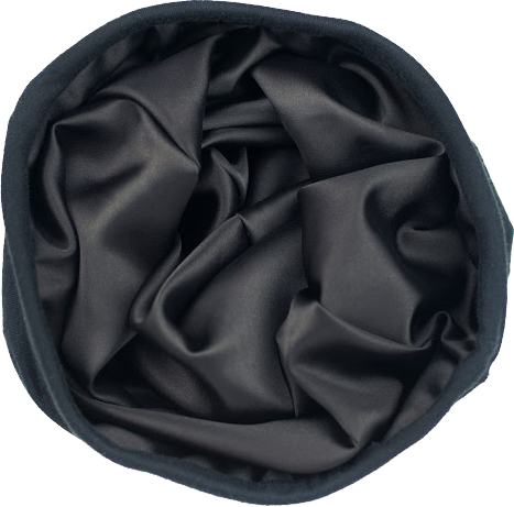 SLAPS  Satin-Lined Cap Black Slap