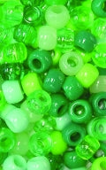 Chloe Bead Round Mix GreenTone