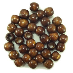 Chloe Jumbo Wooden Bead Brown