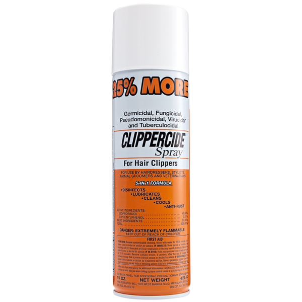 Clippercide Spray for Hair Clippers 12oz