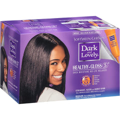 Dark And Lovely Healthy-Gloss 5 Shea Moisture No-Lye Relaxer - Regular