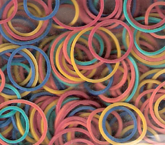 Dream Rubber Bands Assorted