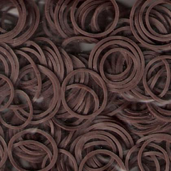Dream Rubber Bands Brown