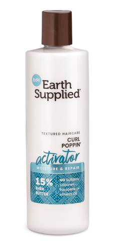 Earth Supplied Moisture & Repair Curl Poppin' Activator