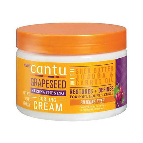 Cantu Grapeseed Strengthening Curl Cream