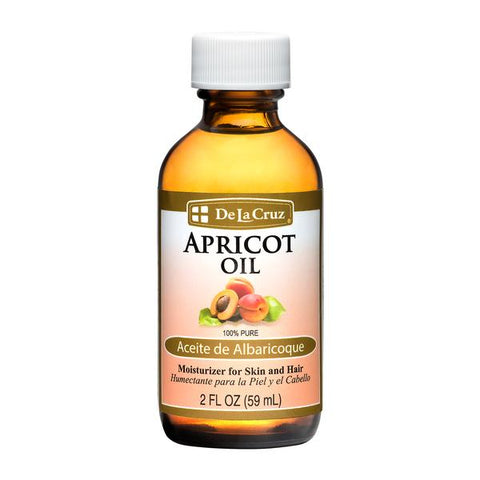 De La Cruz® Pure, Non-GMO, Expeller-Pressed Apricot Oil