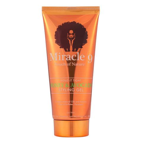 Miracle9 Hold It Tight Honey & Avocado Styling Gel