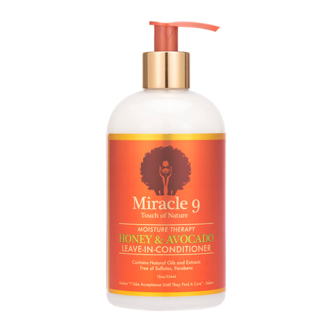 Miracle9 Moisture Therapy Honey & Avocado Leave in Conditioner