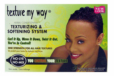 Africa Best ORGANICS Texture My Way TEXTURIZING System kit