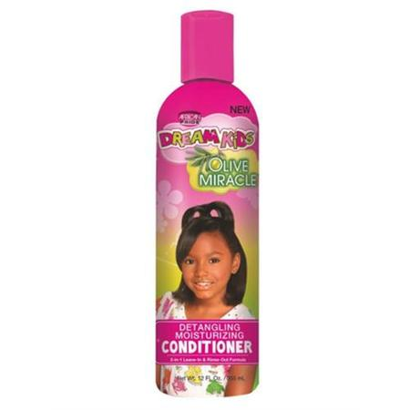 African Pride Dream Kids Detangling Moisturizing Conditioner Olive Miracle