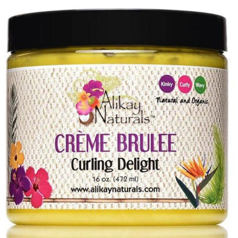 Alikay Naturals Creme Brulee Curling Delight 16oz