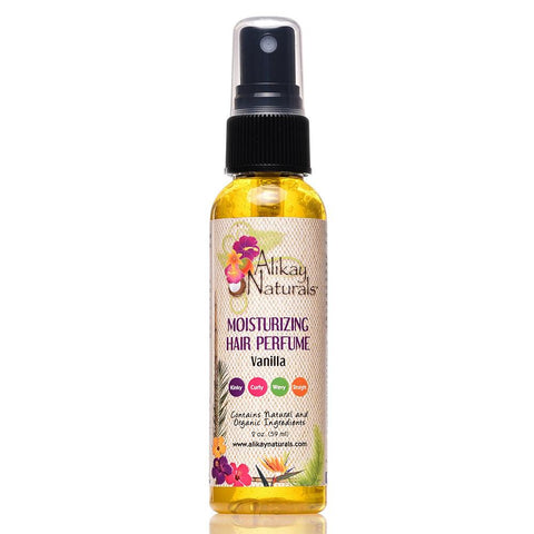 Alikay Naturals Moisturizing Hair Perfume-Vanilla 2oz