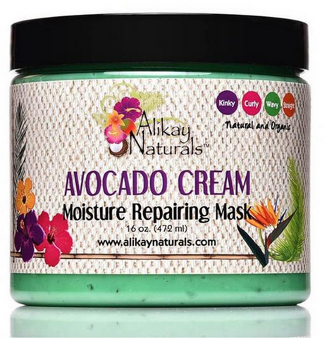 Alikay Naturals Avocado Cream Moisture Repairing Hair Mask 16oz