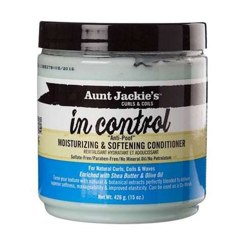 "Aunt Jackie's In Control ""Anti Poof"" Moisturizing and Softening Conditioner"