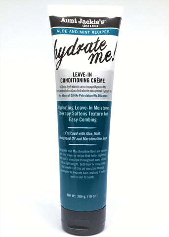 Aunt Jackie's Aloe & Mint Hydrate Me Leave-In Conditioning Crème
