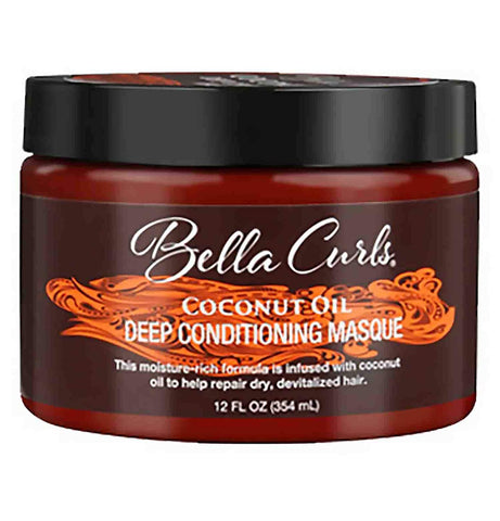 Bella Curls Coconut Oil Deep Conditioning Masque