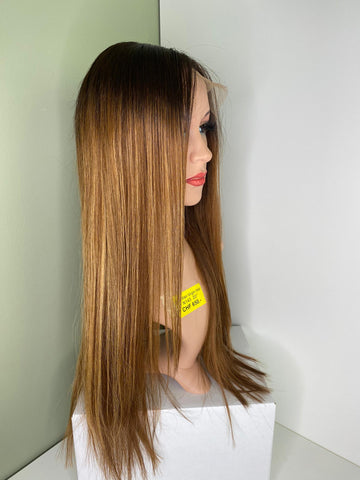 Brazilian Human Hair Front Lace Wig N143