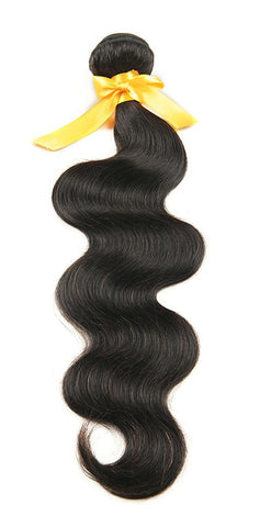 "Brazilian Unprocessed Remy Human Hair Weave 20"" Body Wave"