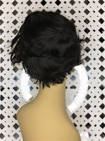 "Machine made wig 8""  N23"