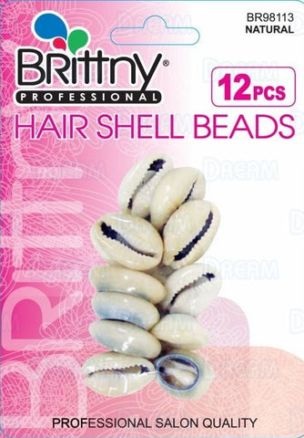 Brittny Shell Beads Natural 12ct