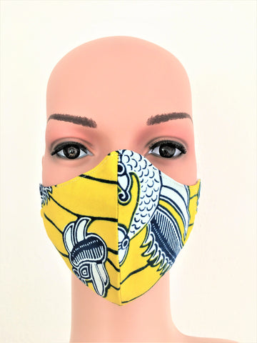 Face Mask Yellow Passion