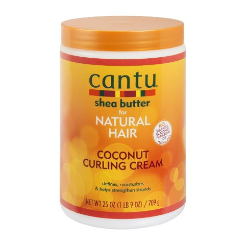 Cantu Shea Butter Natural Hair Coconut Curling Cream 25oz