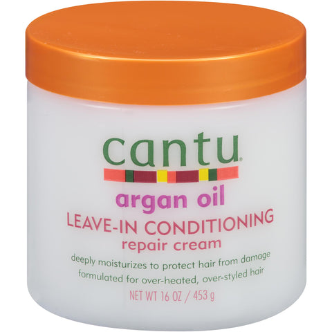 Cantu Natural Hair Argan Oil Leave-In Conditioning Repair Cream