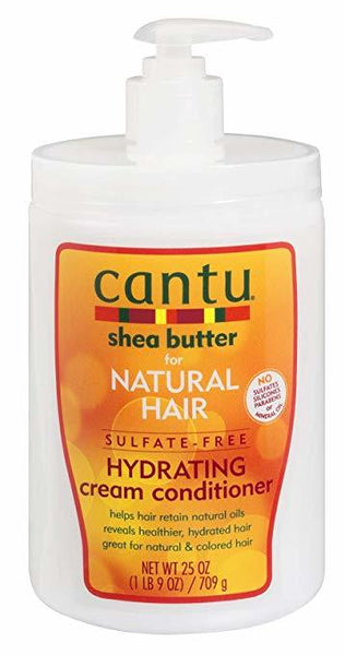 Cantu Shea Butter Natural Hair Sulfate-Free Hydrating Cream Conditioner 25oz