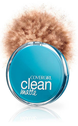 Covergirl Clean Pressed Powder Oil Control Soft Honey