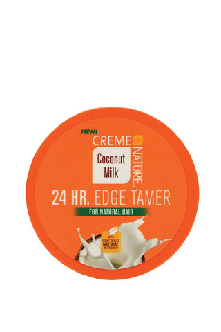 Creme Of Nature Coconut Milk 24hour Edge Tamer