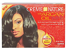 Creme of Nature Argan Oil No-Lye Relaxer Kit Super Strength
