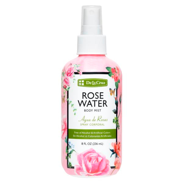 De La Cruz® Rose Water Body Mist
