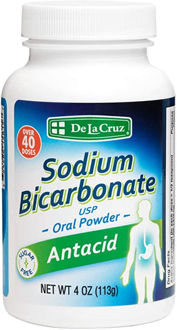 De La Cruz® Pure Sodium Bicarbonate Powder