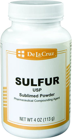 De La Cruz® Pure Sulfur Powder USP Grade