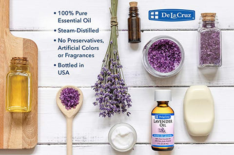 De La Cruz® Pure Lavender Essential Oil