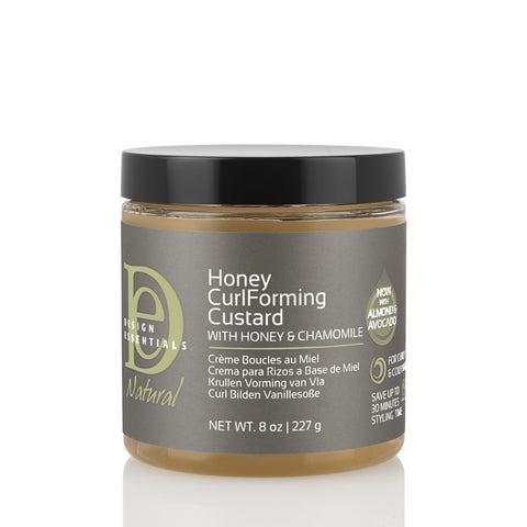 Design Essentials Honey Curl Forming Custard 8oz