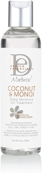 Design Essentials Coconut & Monoi Deep Moisture Oil Treatment 4oz