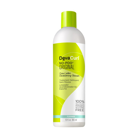 DevaCurl No Poo Original Zero Lather Conditioning Cleanser 12oz.