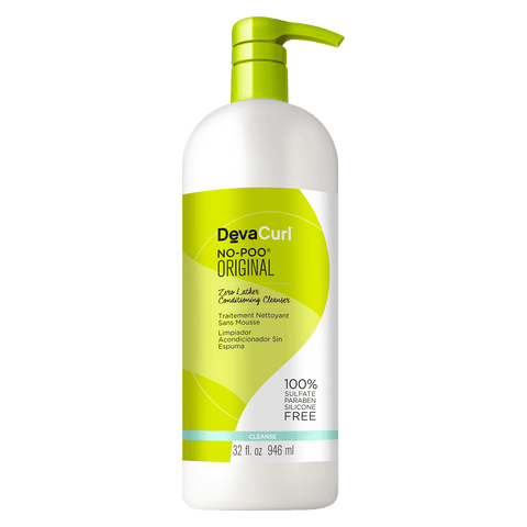 DevaCurl No Poo Original Zero Lather Conditioning Cleanser 32oz.
