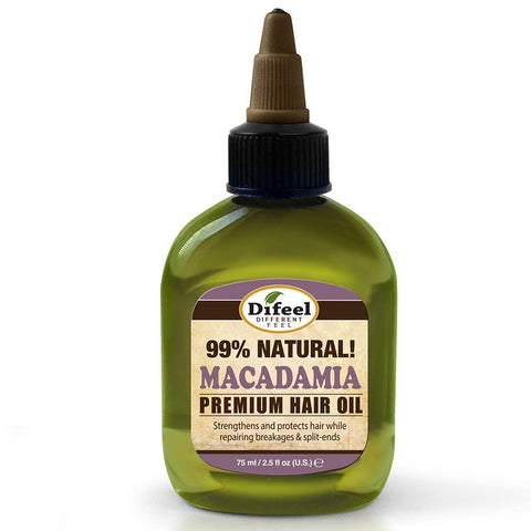 Difeel Premium Natural Hair Oil - Macadamia Oil