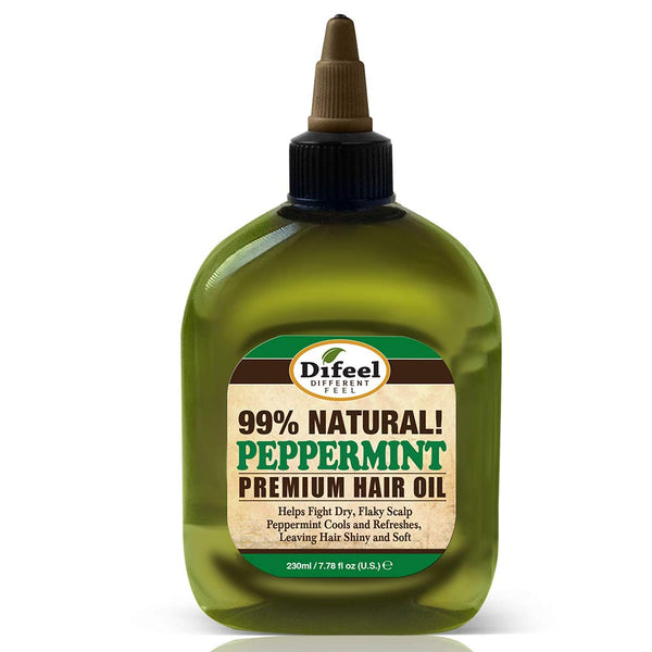 Difeel Premium Natural Hair Oil - Peppermint Oil