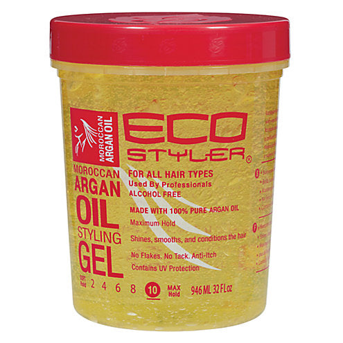 Eco Styler Moroccan Argan Oil Styling Gel 32oz