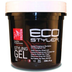 Eco Styler Protein Styling Gel Black 8Oz.