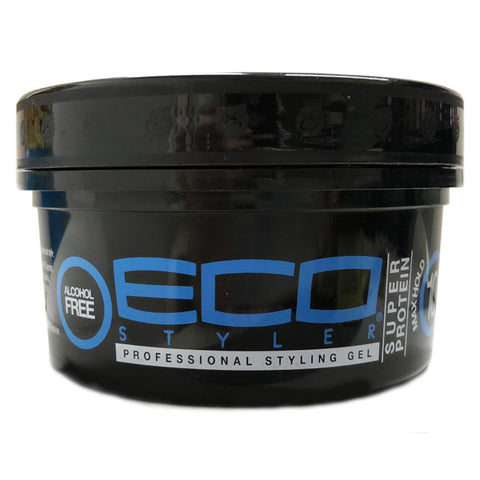 Eco Styler Super Protein Styling Gel Black 8Oz.