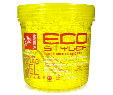 Eco Styler Colored Hair (Yellow) Gel 8oz