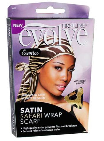 Firstline® Evolve® Exotics Satin Scarf Assorted Safari Prints