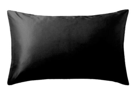 Firstline® Evolve Satin Pillowcase Black